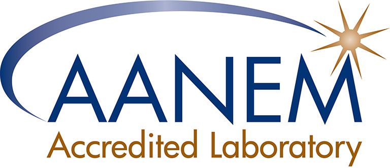 AANEM Accredited Laboratory Logo